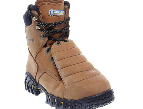 MICHELIN – Men's 8 inch Sledge Metatarsal EH Steel Toe Boots